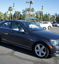 mercedes benz c class 2011 dk  gray sedan c300 luxury gasoline 6 cylinders rear wheel drive automatic 92235