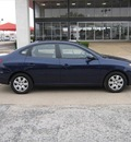 hyundai elantra 2007 blue sedan gls gasoline 4 cylinders front wheel drive automatic 75080