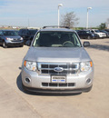 ford escape 2010 silver suv xls gasoline 4 cylinders front wheel drive automatic 76137