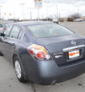 nissan altima 2012 dk  gray sedan 2 5 s gasoline 4 cylinders front wheel drive automatic 46219