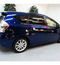toyota prius v 2013 blue ribbon wagon five hybrid 4 cylinders front wheel drive automatic 91731