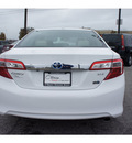 toyota camry hybrid 2012 white sedan xle hybrid 4 cylinders front wheel drive cont  variable trans  46219