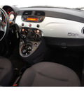 fiat 500 2012 silver hatchback pop gasoline 4 cylinders front wheel drive automatic 76502
