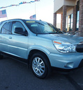 buick rendezvous 2006 lt  blue suv cx gasoline 6 cylinders front wheel drive automatic 80229