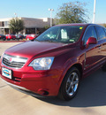 saturn vue 2008 red suv green line hybrid 4 cylinders front wheel drive automatic 75070
