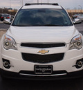 chevrolet equinox 2012 white ltz flex fuel 4 cylinders front wheel drive automatic with overdrive 77802