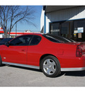 chevrolet monte carlo 2007 red coupe ss gasoline 8 cylinders front wheel drive automatic 76541