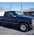 chevrolet 1500 1998 blue pickup truck gasoline v8 rear wheel drive automatic 78654