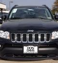jeep compass 2012 black suv latitude gasoline 4 cylinders 2 wheel drive automatic 76011