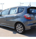 honda fit 2013 dk  gray hatchback sport gasoline 4 cylinders front wheel drive shiftable automatic 77025