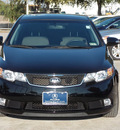 kia forte 2010 black sedan sx gasoline 4 cylinders front wheel drive shiftable automatic 77074