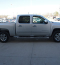 chevrolet silverado 1500 2010 silver lt flex fuel 8 cylinders 2 wheel drive automatic with overdrive 77836