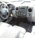 ford f 150 2008 gray pickup truck xl gasoline 6 cylinders 2 wheel drive automatic 34474