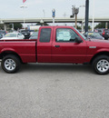 ford ranger 2011 red xlt gasoline 6 cylinders 2 wheel drive automatic 77074