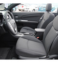 chrysler 200 convertible 2013 black touring gasoline 4 cylinders front wheel drive shiftable automatic 77017