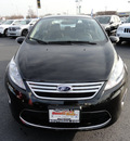 ford fiesta 2012 black sedan sel gasoline 4 cylinders front wheel drive automatic 60443