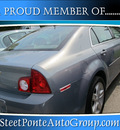 chevrolet malibu 2009 pewter sedan ls gasoline 4 cylinders front wheel drive automatic 13350