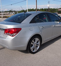 chevrolet cruze 2011 silver sedan ltz gasoline 4 cylinders front wheel drive automatic 28557