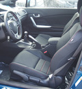 honda civic 2013 blue coupe si gasoline 4 cylinders front wheel drive 6 speed manual 77065
