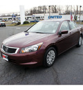 honda accord 2010 basque red sedan lx gasoline 4 cylinders front wheel drive automatic 07724