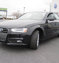 audi a4 2013 black sedan 2 0t quattro premium gasoline 4 cylinders all whee drive 8 speed tiptronic 46410