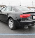 audi a4 2013 black sedan 2 0t quattro premium gasoline 4 cylinders all whee drive 8 speed tiptronic 46410