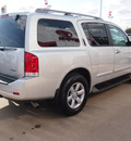nissan armada 2012 silver suv sv flex fuel 8 cylinders 2 wheel drive automatic with overdrive 77802
