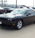 dodge challenger 2013 black coupe sxt flex fuel 6 cylinders rear wheel drive shiftable automatic 77099