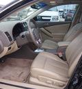 nissan altima 2008 black sedan 2 5 sl gasoline 4 cylinders front wheel drive automatic 77090