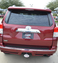 toyota 4runner 2011 dk  red suv sr5 gasoline 6 cylinders 4 wheel drive automatic 76051