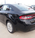dodge dart 2013 black sedan limited gasoline 4 cylinders front wheel drive automatic 77388