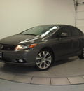 honda civic 2012 dk  gray sedan si gasoline 4 cylinders front wheel drive manual 76137