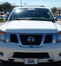 nissan armada 2011 white suv sl flex fuel 8 cylinders 2 wheel drive automatic 76018