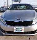 kia optima 2013 satin metal sedan lx gasoline 4 cylinders front wheel drive automatic 76205