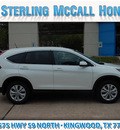 honda cr v 2013 white suv ex l gasoline 4 cylinders front wheel drive automatic 77339