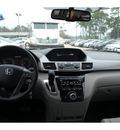 honda odyssey 2013 dk  gray van ex l w dvd gasoline 6 cylinders front wheel drive automatic 77339