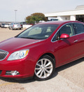 buick verano 2012 red sedan leather group gasoline 4 cylinders front wheel drive automatic 76505
