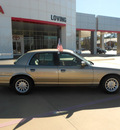 ford crown victoria 2000 gold sedan lx gasoline v8 rear wheel drive automatic 75901