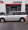 ford flex 2012 silver sel gasoline 6 cylinders front wheel drive automatic with overdrive 77802