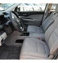 honda cr v 2013 silver suv ex l navi gasoline 4 cylinders front wheel drive automatic 77025