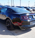 ford mustang 2014 black coupe v6 gasoline 6 cylinders rear wheel drive 6 speed automatic 75070