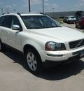 volvo xc90 2010 white suv v8 gasoline 8 cylinders all whee drive shiftable automatic 75007
