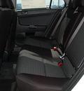 mitsubishi lancer 2012 white sedan es gasoline 4 cylinders front wheel drive automatic 75062