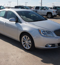 buick verano 2013 silver sedan gasoline 4 cylinders front wheel drive automatic 77521