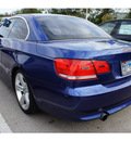 bmw 3 series 2007 blue 335i gasoline 6 cylinders rear wheel drive automatic 78729