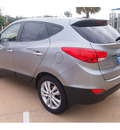 hyundai tucson 2013 gray limited gasoline 4 cylinders front wheel drive automatic 77074