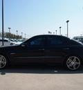 mercedes benz e class 2009 black sedan e63 amg gasoline 8 cylinders rear wheel drive automatic 76018