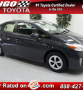 toyota prius 2012 gray hatchback two hybrid 4 cylinders front wheel drive automatic 91731