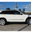 bmw x5 2010 white suv xdrive48i gasoline 8 cylinders all whee drive automatic 77002