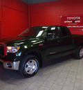 toyota tundra 2012 green sr5 gasoline 8 cylinders 4 wheel drive automatic 76116